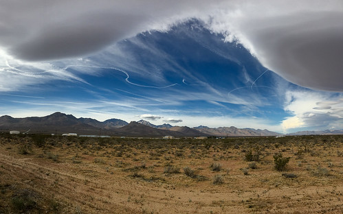 Clouds and Contrails