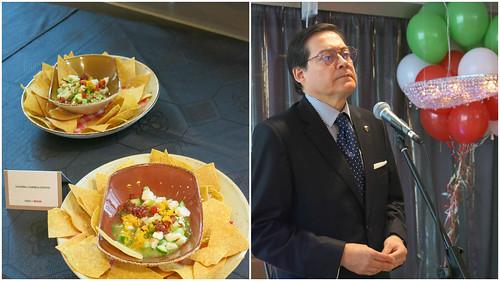 """Inauguración del festival """"Taste of Mexico"""""""