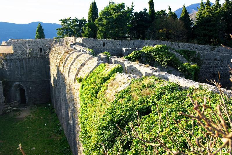 Старая крепостная стена
