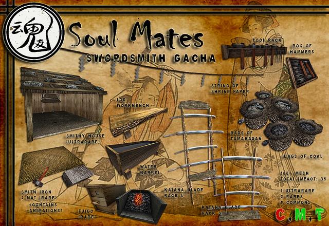 [Soul Mates] Swordsmith Gacha Ad
