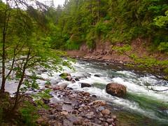 Hiking at Snoqualmie Falls