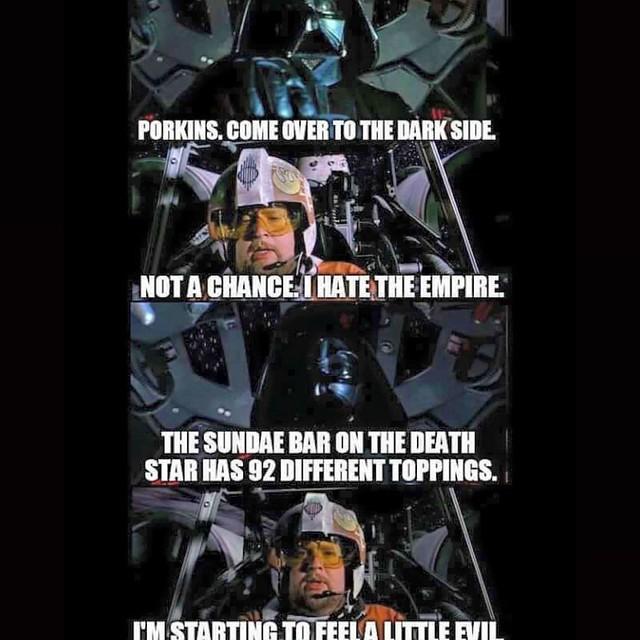 #Xwing #Pilot #Porkins starts to feel the #Darkside...It's dangerous!😃Repost from @rj_vintage_toys #Skywalker #Rebels #StarWars #Imperial #lukeskywalker #DarthVader #Sith #Jedi #Yoda #TheEmperor #theforceawakens #TheForce #anewhope #movie #recut #y
