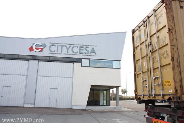 Sede central de CITYCESA en el Centro de Transportes y Mercancías de Salamanca (CETRAMESA).