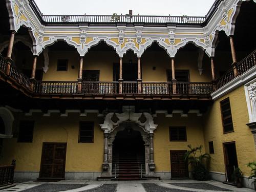 Lima: le Palacio de Torre-Tangle dans le centre historique