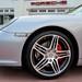 2009 Porsche 911 Carrera S (997) Cabriolet GT Silver on Black in Beverly Hills @porscheconnect 1241