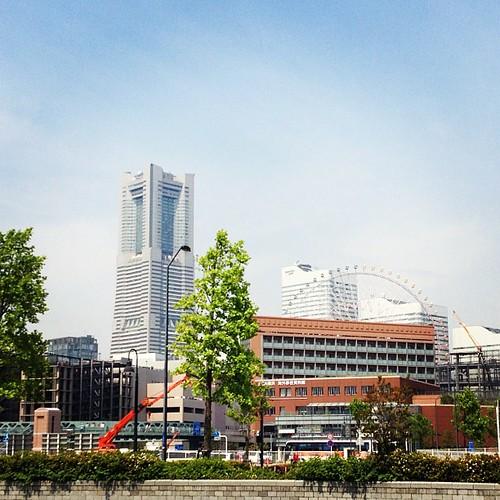 横浜ポタリングなう。