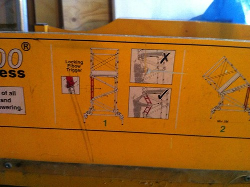 Razor Raza Deck 200 Self Erecting Scaffold Platform Sold