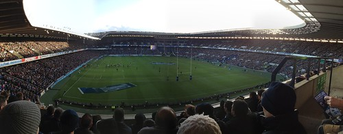 Another Murrayfield Rugby Stadium Pano