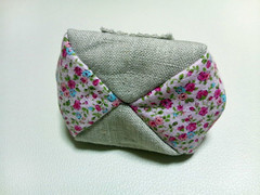 Sock Monkey Hugz Frame Pouch(Bottom)
