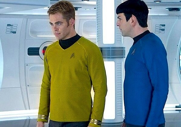 Chris Pine and Zachary Quinto take what's old and make it new again in STAR TREK INTO DARKNESS.