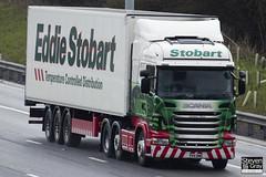 Scania R440 6x2 Tractor - PK11 BWE - Kathleen Alison - Eddie Stobart - M1 J10 Luton - Steven Gray - IMG_7939