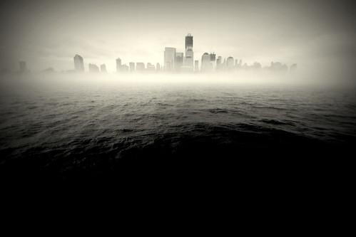 Misty Morning - NYC
