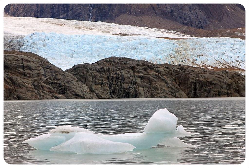 laguna torre and glaciar grande