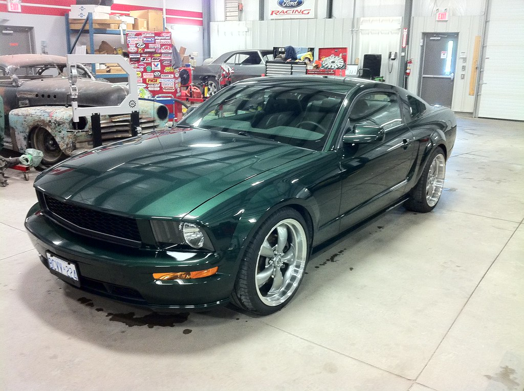 2008 ford mustang bullitt wicked garage inc. Black Bedroom Furniture Sets. Home Design Ideas