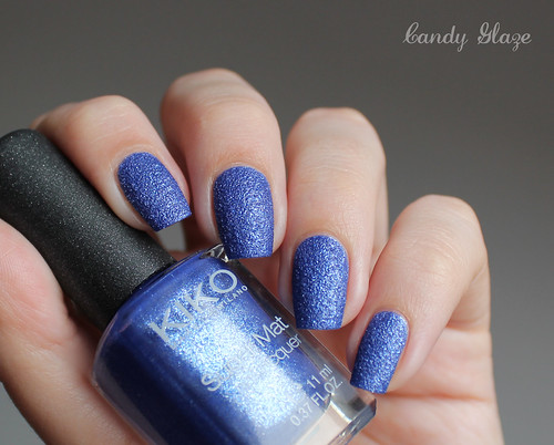 Kiko Sugar Mat Nail Lacquer 644 Sea Blue
