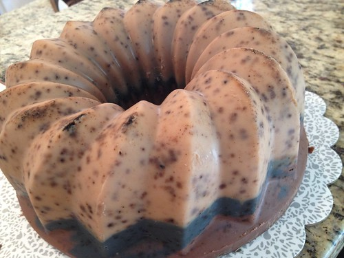 Coffee Soap Cake by The Daily Scrub