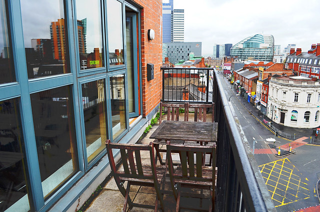 Balcony, City Warehouse Apartment Hotel, Manchester