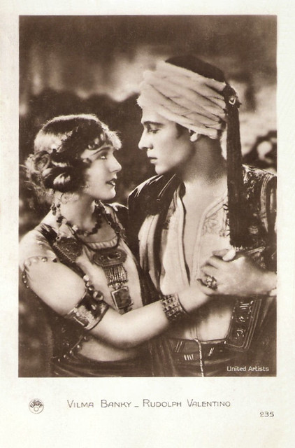 Vilma Banky, Rudolph Valentino