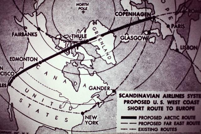 Proposed Polar Flight Route