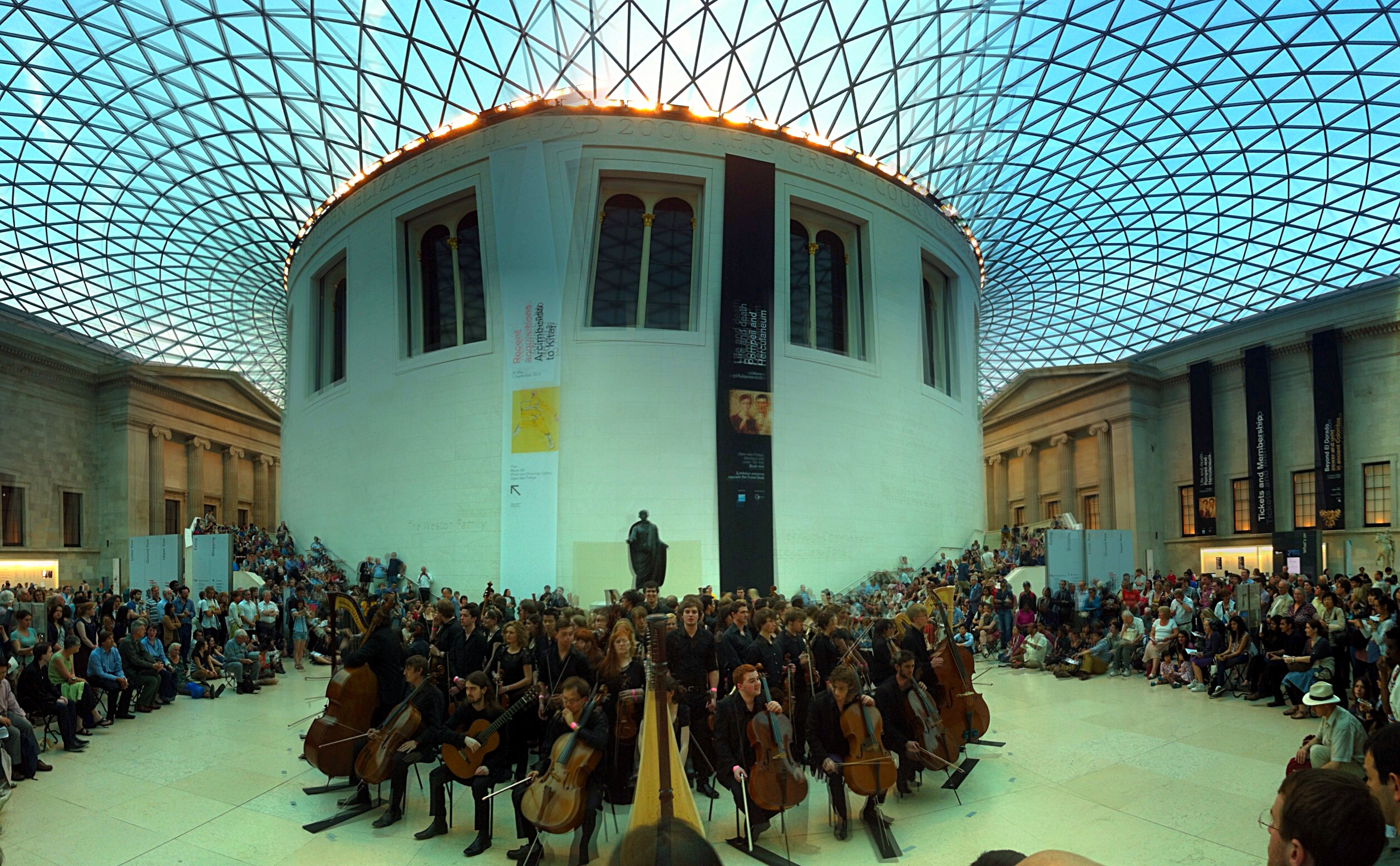 Royal Northern College of Music play #SoundHistories at the British Museum