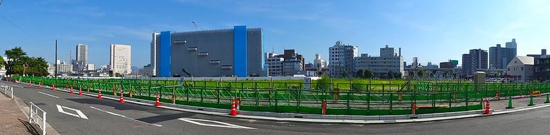 広島市東区二葉の里土地区画整理地区
