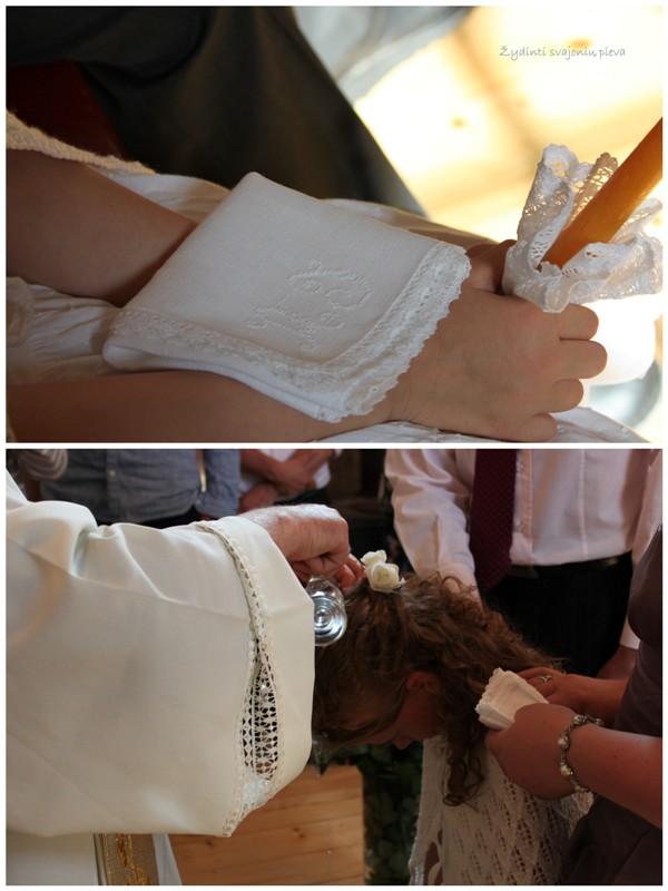 Amelija's christening