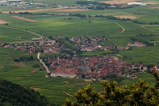 Visite du Château du Haut Koenigsbourg - Panorama sur Saint Hippolyte