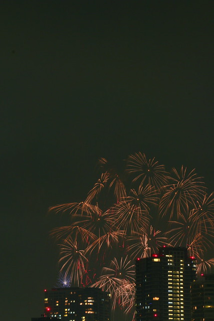 Tokyo Bay Fireworks Festival 2013 Canon EOS 70D 09