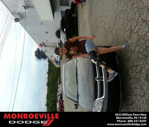 Thank you to Mary  Young on your new 2013 new car  from Jeff  Yates and everyone at Monroeville Dodge! by Monroeville Dodge