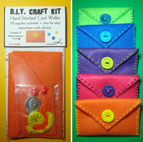 D.I.Y. Card Wallet Kit