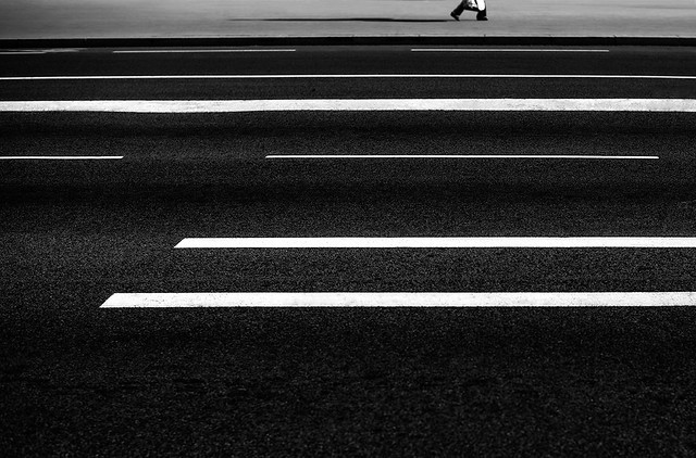 Walk the lines - Fantastic Black and White Street Photographs