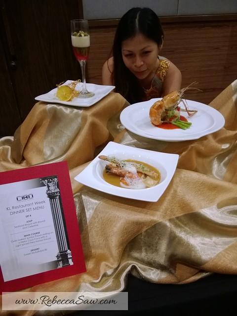 kl restaurant week 2013 - rebeccasaw blog-004