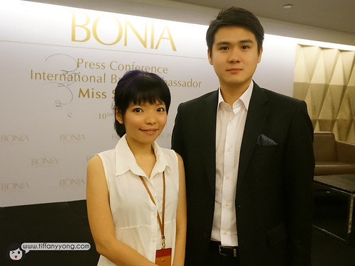 Mr Daniel Chiang, Brand Director of BONIA