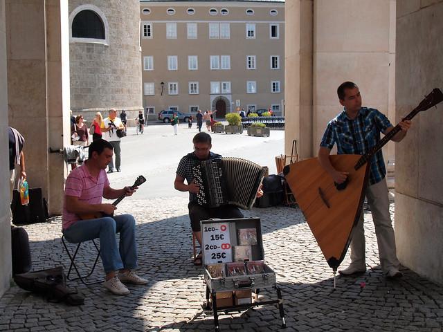 Salzburg street music