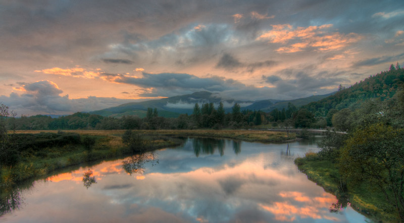 Trossachs Sunset
