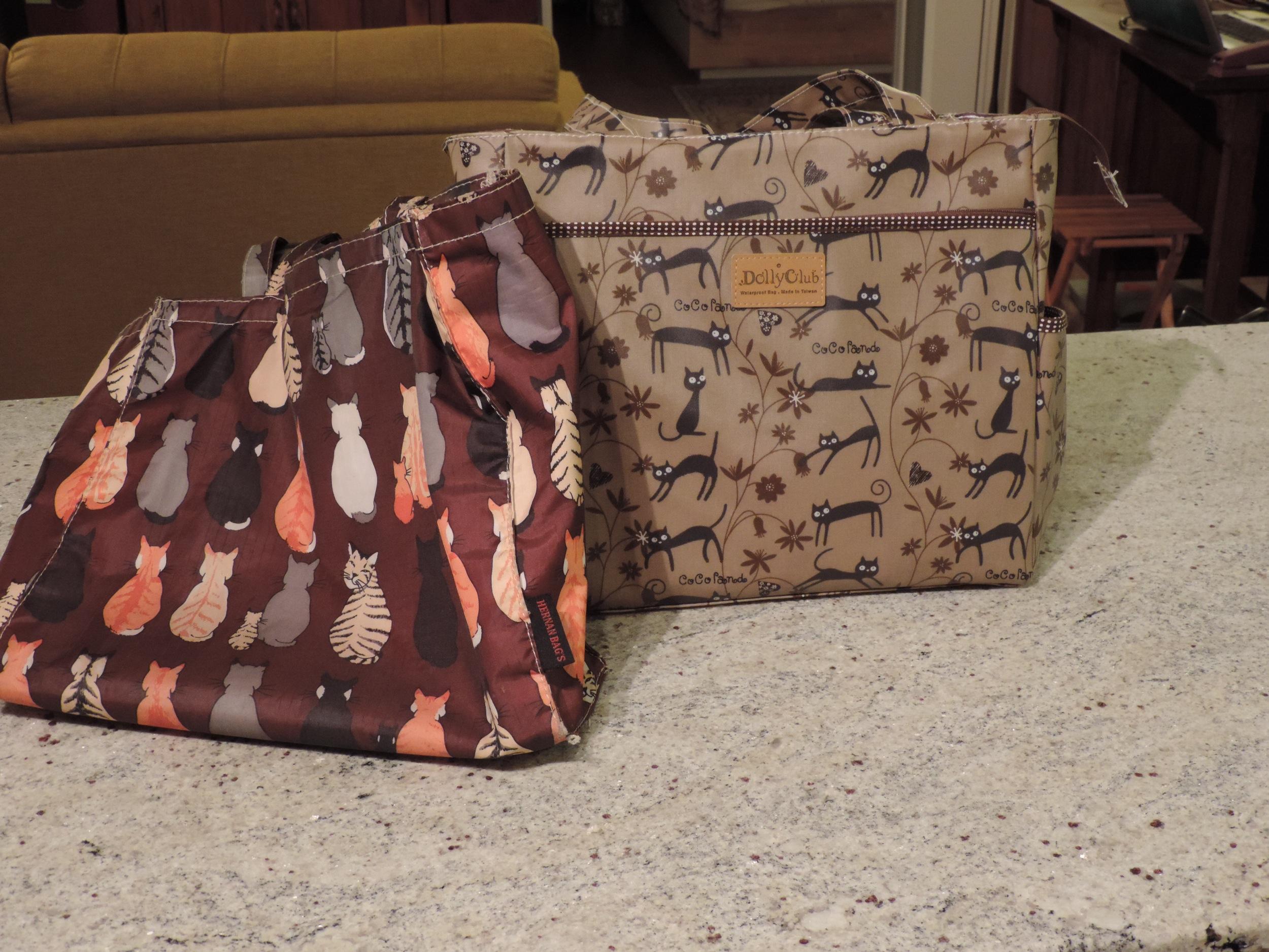 Cat bags 1&2