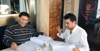 A sinistra, Gianpiero Mancini spulcia il Peg-bilancio di Mazzone