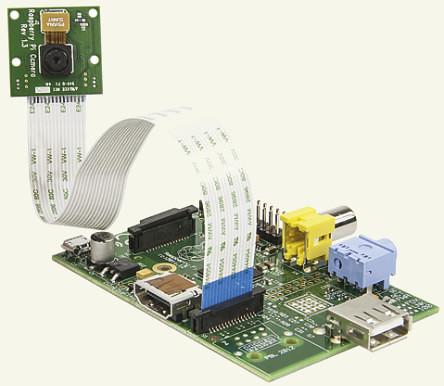 Raspberry Pi Model A + kamera bundle