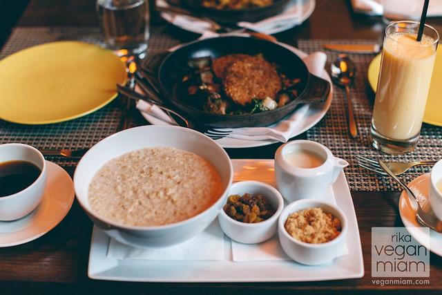The Waldorf Astoria Chicago - Vegan Breakfast