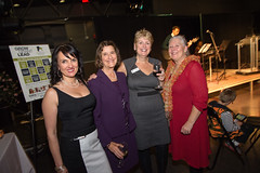 Directors, Marilyn Pearson, Cllr Judy Villeneuve, Staff, Vera LeFranc with Mary Pichette of Servants Anonymous Society