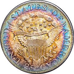 1807 B-2 Quarter Dollar reverse