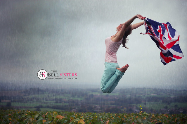 Union Jack Jump in the Rain