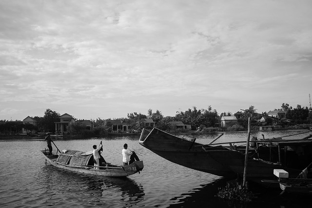 Neighbors funeral boat