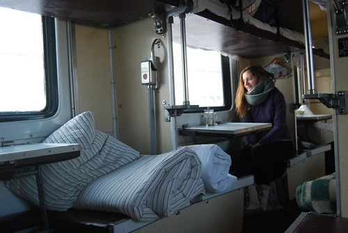 En el tren -Transiberiano