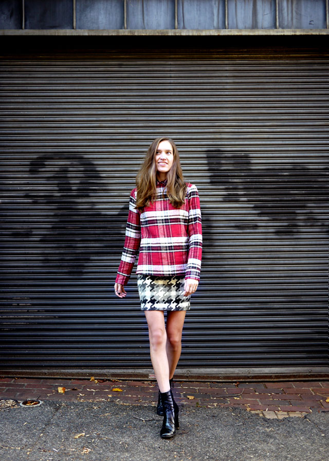 5 the reformation plaid shirt upcycled sustainable fashion copy