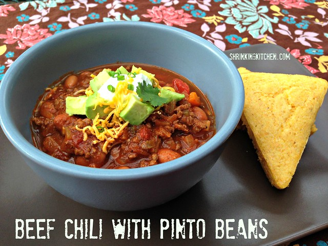 Beef Chili with Pinto Beans