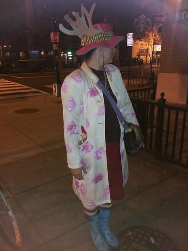 Costumed