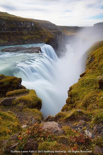 waterfall iceland fv10 gullfoss