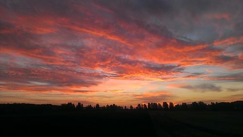 beautiful sunrise michigan shelby