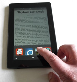 Amazon Kindle Fire HD tablet
